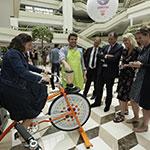 Animation événementielle Vélo-Smoothie® pour vos événements d'entreprise